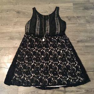 Black Lace Dress (Size 18)
